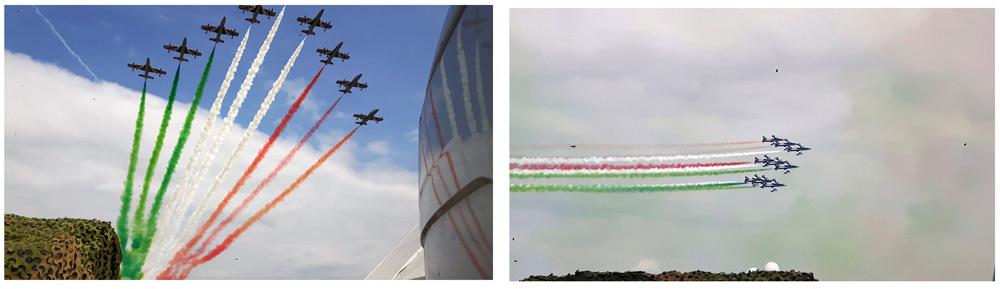 Calendario Aeronautica Militare 2020.95 Anniversario Dell Aeronautica Militare Aero Club D Italia